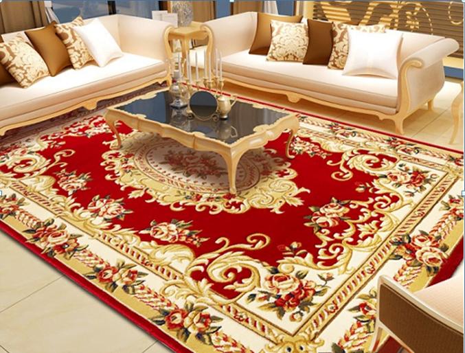 Thảm trải sàn cho mùa đông nên sử dụng những gam màu nóng sẽ khiến cho căn phòng trở nên ấm áp và tươi mới hơn.